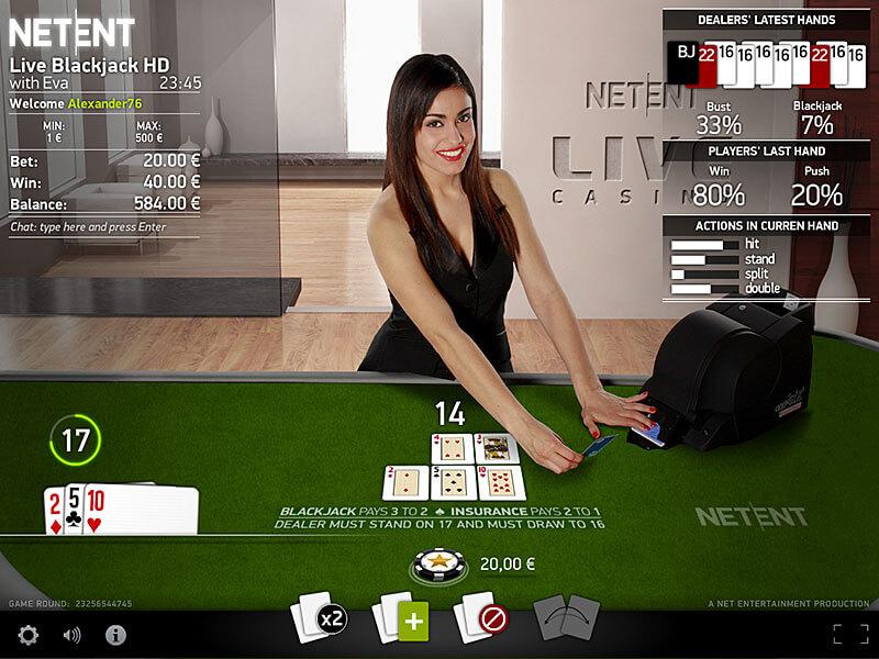 Gewinnen im Live Casino