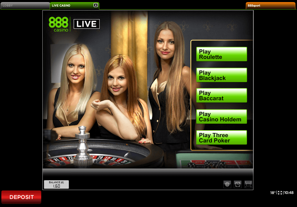 Review 888 Casino Live Casino