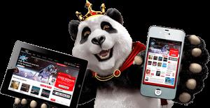 Live Casino für das Handy bei Royal Panda