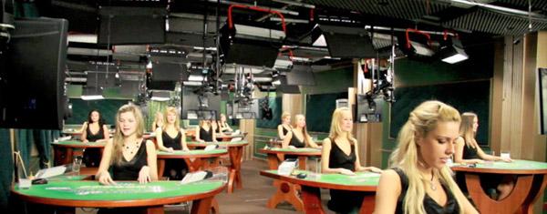 Bei Evolution Gaming wird von Live Casino-Studios aus übertragen