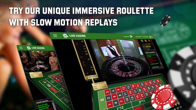 Immersive Roulette-Erlebnis