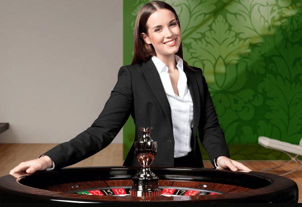 Live-Croupier im Netent Live Casino