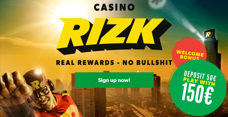 Rizk Casino Review Registrierung